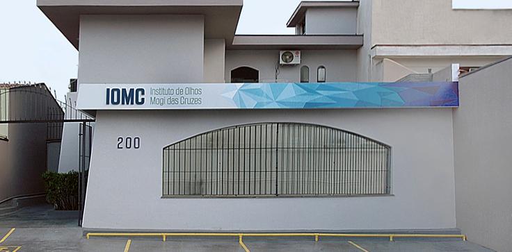 Fachada <strong>– </strong>Instituto de Olhos de Mogi das Cruzes